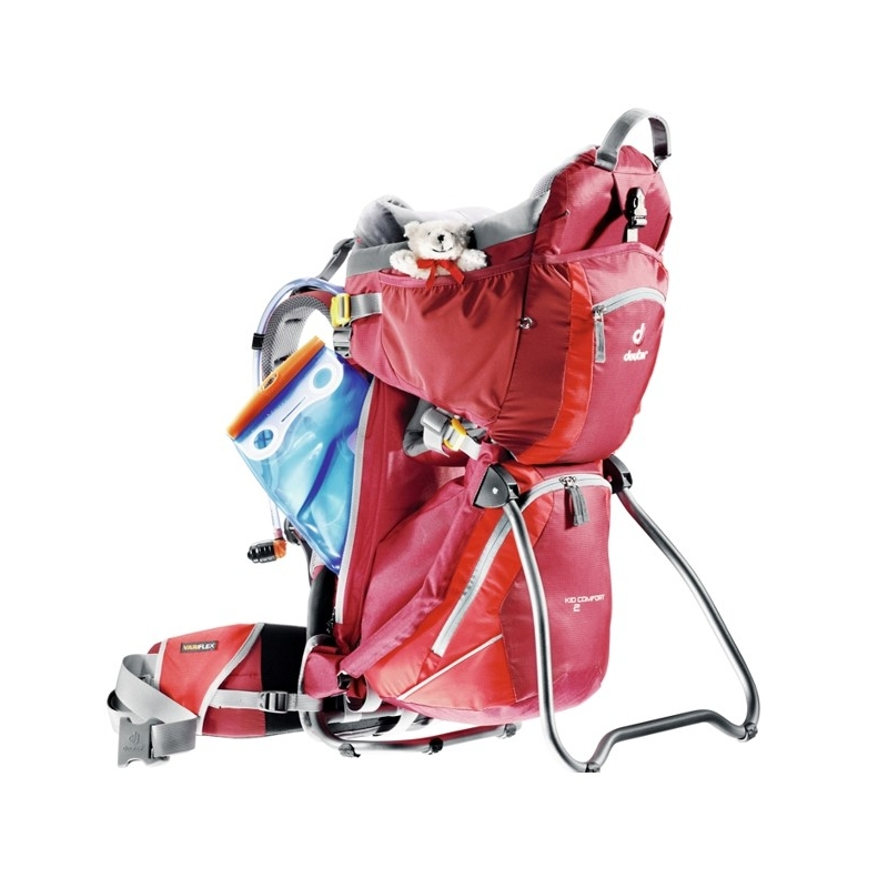 Deuter seljakott lapse kandmiseks Deuter Kid Comfort II punane