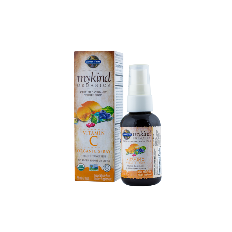 Garden of Life Mykind C-vitamiin orgaaniline spray 58ml