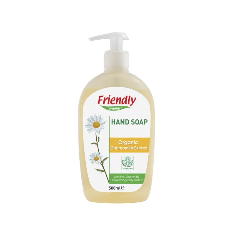 Friendly Organic kummeliga vedelseep 500ml