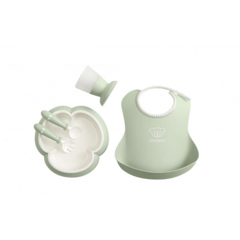 Baby Dinner Set Powder Green.JPG