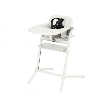 Lemo High Chair w Baby Set - Porcelain White.jpg