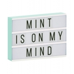 A Little Lovely Lightbox A4: Mint + adapter