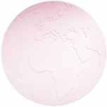 KG Design lauamatt Atlas, roosa
