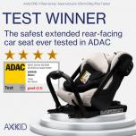 Axkid One+ i-Size selg sõidusuunas turvatool 40-125cm (23kg) UUS