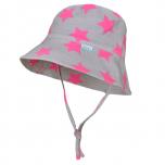 Breden müts Soren hall-roosa täht