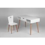 Troll avatud laud+tool valge