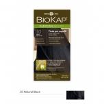 Biokap Nutricolor Delicato 1.0 / naturaalne must / püsivärv, 140 ml