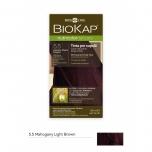 Biokap Nutricolor Delicato 5.5 / hele mahagonpruun / püsivärv, 140ml