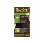 Biokap Nutricolor Delicato Rapid 4.05 / šokolaadikastan / püsivärv, 135ml