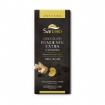 Sarchio gluteenivaba ekstra tume šokolaad ingveriga 80g