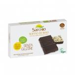 Sarchio gluteenivaba tume šokolaad paisutatud riisiga 3x25g