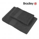 Bradley froteerätik 70x140cm tumehall