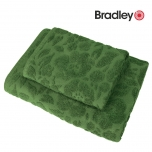 Bradley froteerätik muster 70x140cm roheline