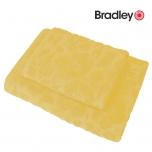 Bradley froteerätik muster 50x70cm kollane