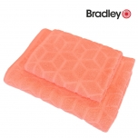 Bradley froteerätik rombid 50x70cm virsik
