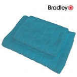 Bradley froteerätik rombid 50x70cm sinine