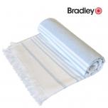 Bradley rannalina 70x140cm sile/frotee triibuline helesinine