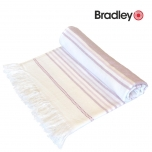 Bradley rannalina 70x140cm sile/frotee triibuline helelilla