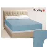 Bradley voodilina kummiga trikotaaž 180x200cm erinevad värvid