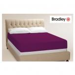Bradley voodilina kummiga 180x200cm, erinevad värvid