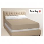 Bradley voodilina kummiga 90x200cm, erinevad värvid