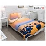 Bradley Textile tekikott 150x210cm ja padjapüür Rahulik loojang satiin