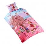 "Bradley Lotte tekikott ""Lotte roosa kirsipuuga"" 150x210cm"