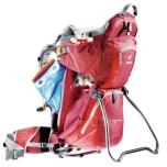 Deuter seljakott lapse kandmiseks Deuter Kid Comfort II punane