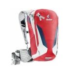 Deuter Compact Lite 8 seljakott jalgratturile, valge-punane