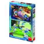 Dino pusle 2x66 tk Smurf 4+