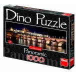 Dino panoraampusle 1000 tk Hradčany loss öösel 10+