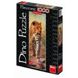 Dino panoraampusle 1000 tk Leopard Keeniast 10+