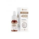 Ecosh D3 vitamiin kookosõliga, 1 tilk 4000 IU 10ml