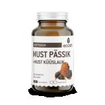 Ecosh Must Pässik + Must Küüslauk 90tk