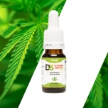 Ecosh Vitamiin D3 kanepiõliga, 1 tilk 1200 IU 10ml