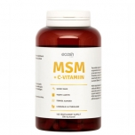 Ecosh MSM + C-vitamiin, 160 tk