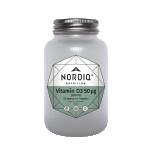 Nordiq Nutrition Vitamin D3 50 ug 2000IU 60tk