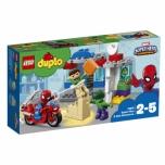 LEGO DUPLO Spider-Mani ja Hulki seiklused, 38 detaili
