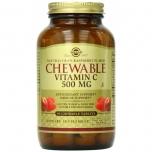 Solgar C vitamiin 500mg imemistabletid, jõhvikas-vaarikas 90tk
