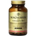 Solgar Magneesium+B6 vitamiin 250tk