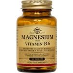 Solgar Magneesium+B6 vitamiin 100tk