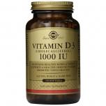Solgar D3-vitamiin 1000IU 250tk