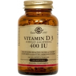 Solgar D3-vitamiin 400IU 100tk