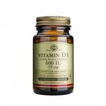 Solgar D3-vitamiin 600IU 60tk