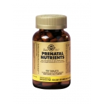 Solgar Prenatal Nutriens, rasedatele 120 tbl