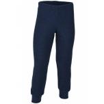 Engel pidžaama püksid meriinovilla frotee, sinine