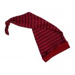 Engel pikk müts vill-siid, punane triibuline