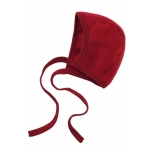 Engel villafliisist beebimüts, punane