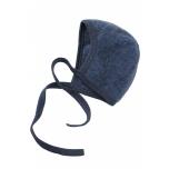 Engel villafliisist beebimüts, sinine