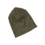 Engel kahekordne müts vill-siid, oliiviroheline